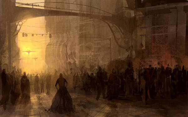 atmospheric_perspective_benefits_Street_scene_by_theo_prins